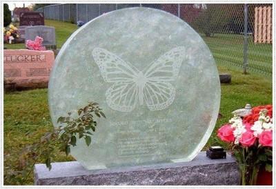Надгробные памятники из стекла модель 015Мемориал