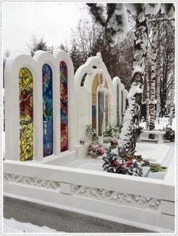 Мемориал Витражное стекло в памятниках