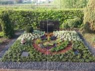 Ландшафтный дизайн при благоустройстве могил на кладбище - 13