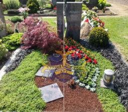 Озеленение могил - 1716