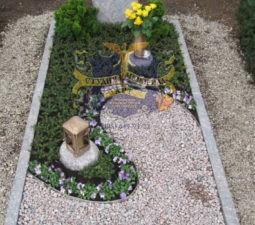 Озеленение могил - 1742