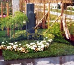 Озеленение могил - 1767