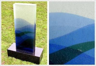 Надгробные памятники из стекла модель 018Мемориал