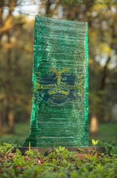 Надгробные памятники из стекла модель 021Мемориал