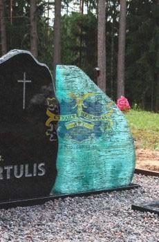 Надгробные памятники из стекла модель 022Мемориал