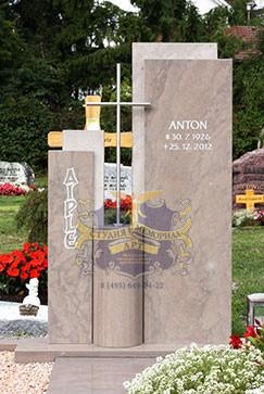 Эксклюзивные надгробные памятники модель 020Мемориал