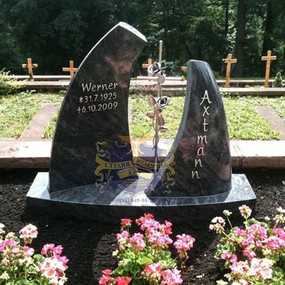 Эксклюзивные надгробные памятники модель 011Мемориал