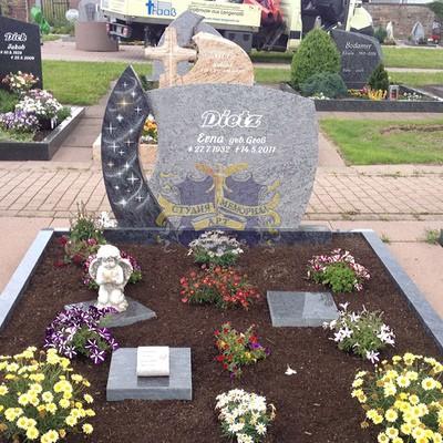Эксклюзивные надгробные памятники модель 003Мемориал