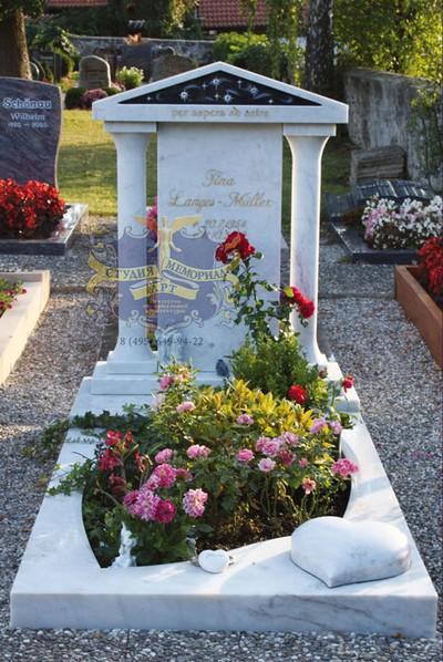 Эксклюзивные надгробные памятники модель 042Мемориал