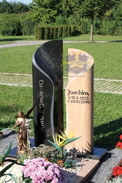 Эксклюзивные надгробные памятники модель 034Мемориал