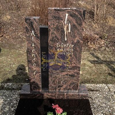Эксклюзивные надгробные памятники модель 029Мемориал