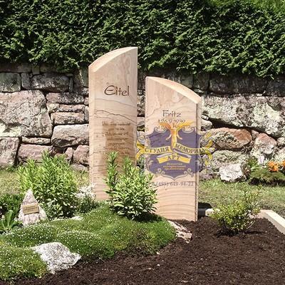 Эксклюзивные надгробные памятники модель 027Мемориал