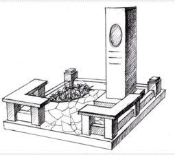 Эскиз памятника очень важен. Он позволяет увидеть памятник до начала работ. - 2381