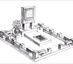 Эскиз памятника очень важен. Он позволяет увидеть памятник до начала работ. - 2383