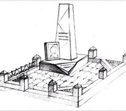 Эскиз памятника очень важен. Он позволяет увидеть памятник до начала работ. - 2386