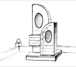 Эскиз памятника очень важен. Он позволяет увидеть памятник до начала работ. - 2388