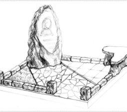 Эскиз памятника очень важен. Он позволяет увидеть памятник до начала работ. - 2392