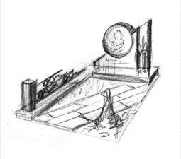 Эскиз памятника очень важен. Он позволяет увидеть памятник до начала работ. - 2411