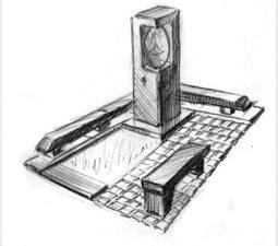 Эскиз памятника очень важен. Он позволяет увидеть памятник до начала работ. - 2418