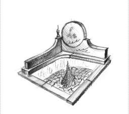 Эскиз памятника очень важен. Он позволяет увидеть памятник до начала работ. - 2467