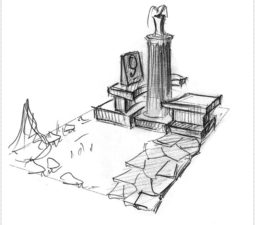 Эскиз памятника очень важен. Он позволяет увидеть памятник до начала работ. - 2468