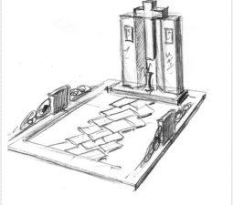 Эскиз памятника очень важен. Он позволяет увидеть памятник до начала работ. - 2480