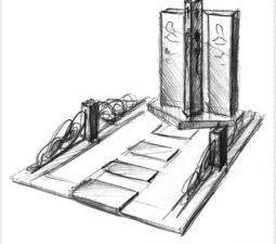 Эскиз памятника очень важен. Он позволяет увидеть памятник до начала работ. - 2483