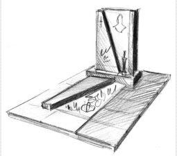 Эскиз памятника очень важен. Он позволяет увидеть памятник до начала работ. - 2499