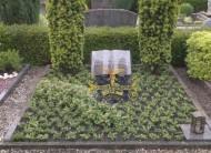 Ландшафтный дизайн при благоустройстве могил на кладбище - 25