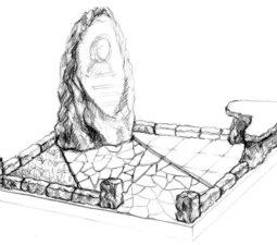 Эскиз памятника очень важен. Он позволяет увидеть памятник до начала работ. - 2508