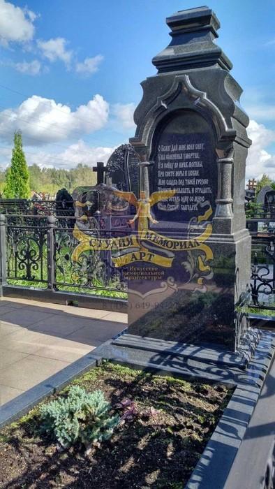 Православный памятник на могилу- крест Крест из мрамора CМА-11.03Мемориал