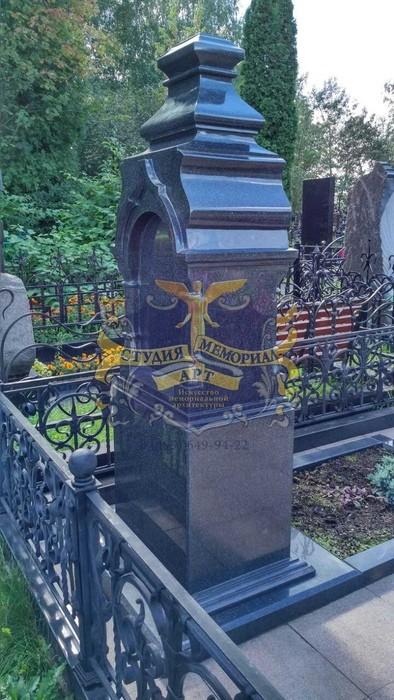 Православный памятник на могилу- крест Крест из мрамора CМА-11.04Мемориал
