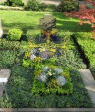 Ландшафтный дизайн при благоустройстве могил на кладбище - 30