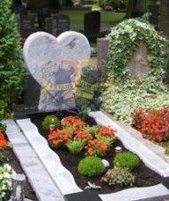 Ландшафтный дизайн при благоустройстве могил на кладбище - 34