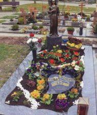 Ландшафтный дизайн при благоустройстве могил на кладбище - 35