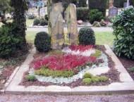 Ландшафтный дизайн при благоустройстве могил на кладбище - 36