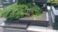 Ландшафтный дизайн при благоустройстве могил на кладбище - 38