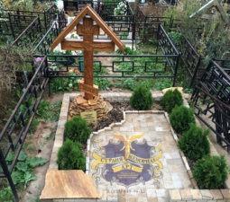 Озеленение могил - 3916