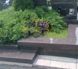Озеленение могил - 3921
