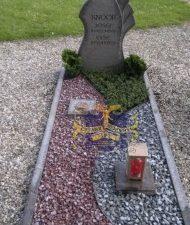 Ландшафтный дизайн при благоустройстве могил на кладбище - 40