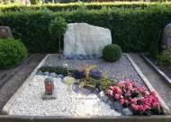 Ландшафтный дизайн при благоустройстве могил на кладбище - 41