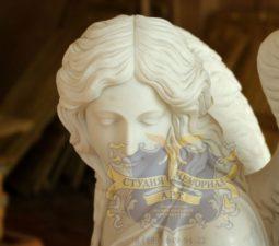 Скульптура. Ангел на памятник - 4998