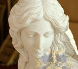 Скульптура. Ангел на памятник - 4999