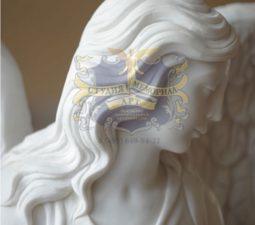 Скульптура. Ангел на памятник - 5002