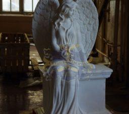 Скульптура. Ангел на памятник - 5006
