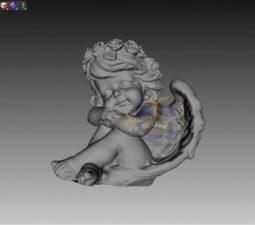 Скульптура. Ангел на памятник - 5010