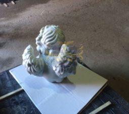 Скульптура. Ангел на памятник - 5014