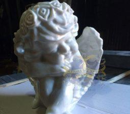 Скульптура. Ангел на памятник - 5015