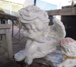 Скульптура. Ангел на памятник - 5021