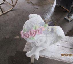 Скульптура. Ангел на памятник - 5024